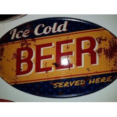 Vintage : Ice Cold Beer O
